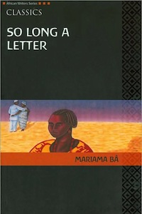 Mariama Ba So Long a Letter