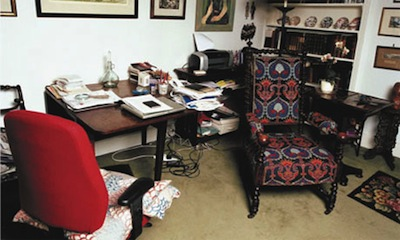 Diane Athill Table in the Living Room Writing Space