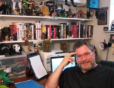 Jonathan Maberry Curios Office Writing SpacesJonathan Maberry Curios Office Writing Spaces