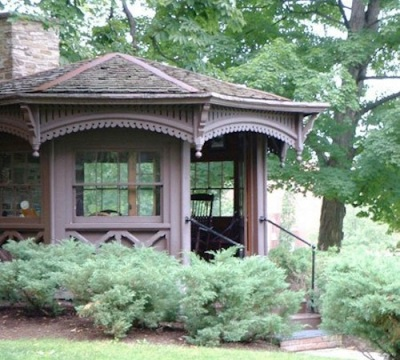 Mark Twain's Writing Hut Writing Space