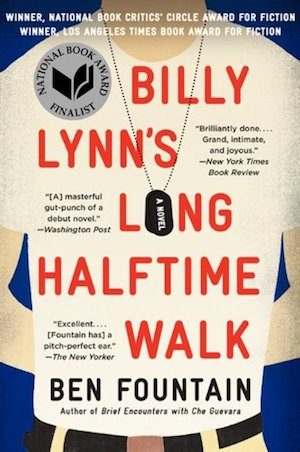 Billy Lynn's Long halftime Walk Ben Fountain Book Cover Steve AttardoBilly Lynn's Long halftime Walk Ben Fountain Book Cover Steve Attardo