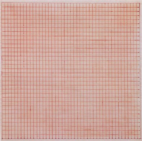 Martin_Untitled Pink Grid